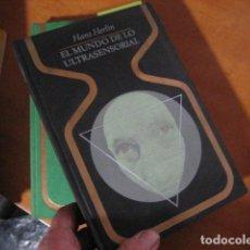 Libros de segunda mano: HANS HERLIN - EL MUNDO DE LO EXTRASENSORIAL (HIPNOSIS, ESPIRITIMISMO, TELEQUINESIA). Lote 269247188