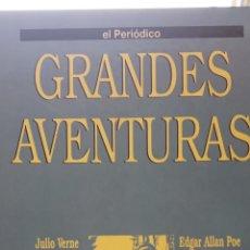 Libros de segunda mano: GRANDES AVENTURAS. TOMO 2. EL PERIÓDICO. EDICIONES B. FASCÍCULOS. Lote 269247623