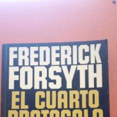 Libros de segunda mano: EL CUARTO PROTOCOLO. FREDERICK FORSYTH. PLAZA Y JANES EDITORES. Lote 269249213