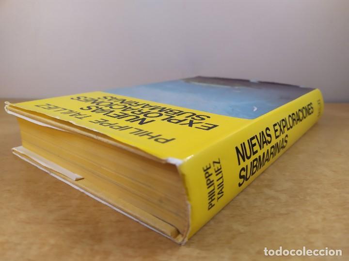 Libros de segunda mano: NUEVAS EXPLORACIONES SUBMARINAS / PHILIPPE TAILLIEZ / 2ªed. 1987. JUVENTUD - Foto 8 - 269259593