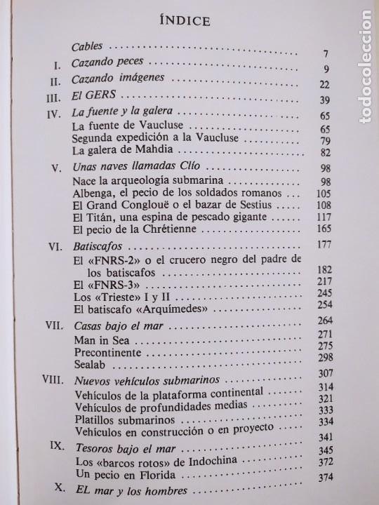 Libros de segunda mano: NUEVAS EXPLORACIONES SUBMARINAS / PHILIPPE TAILLIEZ / 2ªed. 1987. JUVENTUD - Foto 4 - 269259593