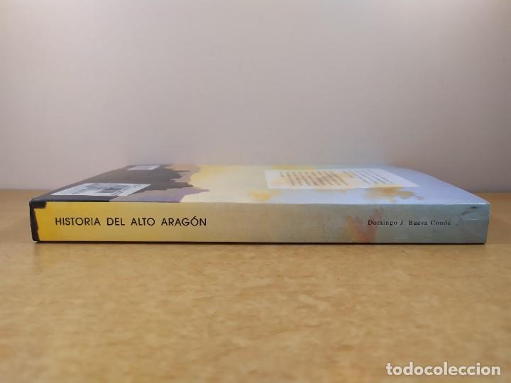 Libros de segunda mano: HISTORIA DEL ALTO ARAGÓN / DOMINGO J. BUESA CONDE / 2000. EDITORIAL PIRINEO - Foto 6 - 269276183
