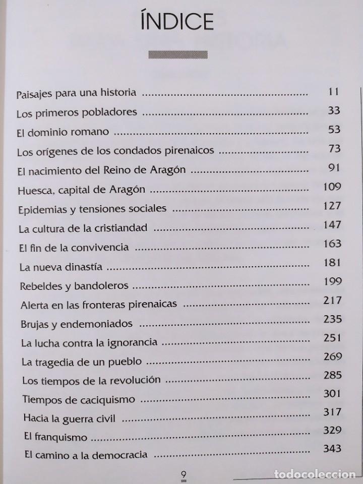 Libros de segunda mano: HISTORIA DEL ALTO ARAGÓN / DOMINGO J. BUESA CONDE / 2000. EDITORIAL PIRINEO - Foto 2 - 269276183