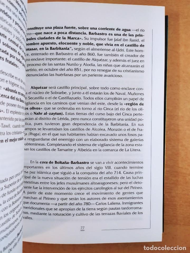 Libros de segunda mano: HISTORIA DEL ALTO ARAGÓN / DOMINGO J. BUESA CONDE / 2000. EDITORIAL PIRINEO - Foto 3 - 269276183
