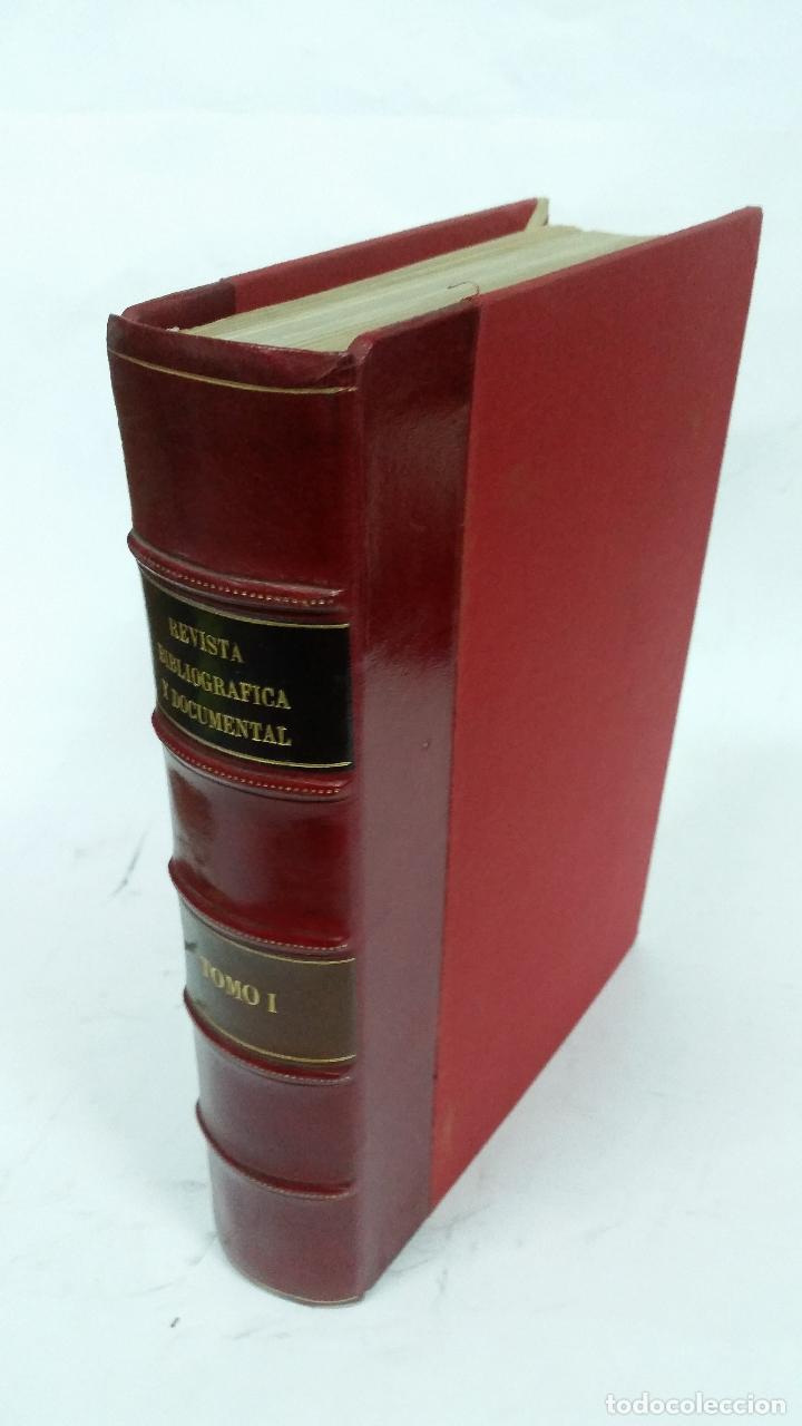 Libros de segunda mano: Revista Bibliográfica y Documental. Archivo general de erudición hispánica. Años 1947 a 1951 - Foto 2 - 269312083