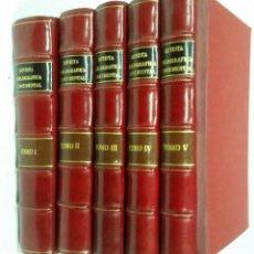 Libros de segunda mano: REVISTA BIBLIOGRÁFICA Y DOCUMENTAL. ARCHIVO GENERAL DE ERUDICIÓN HISPÁNICA. AÑOS 1947 A 1951. Lote 269312083