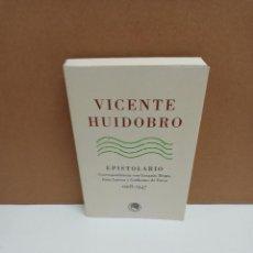 Libros de segunda mano: VICENTE HUIDOBRO - EPISTOLARIO CORRESPONDENCIA CON GERARDO DIEGO, JUAN LARREA Y GUILLERMO DE TORRE 1. Lote 269360303
