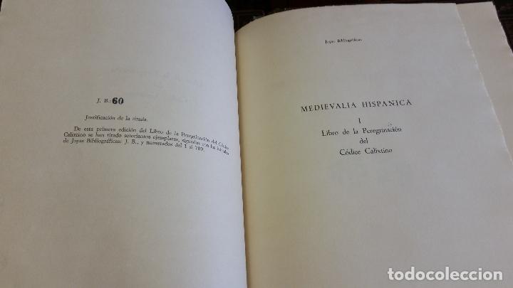 Libros de segunda mano: 1971 - Libro de la peregrinación del códice calixtino - Joyas Bibliográficas - Foto 3 - 269439653