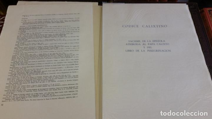Libros de segunda mano: 1971 - Libro de la peregrinación del códice calixtino - Joyas Bibliográficas - Foto 6 - 269439653