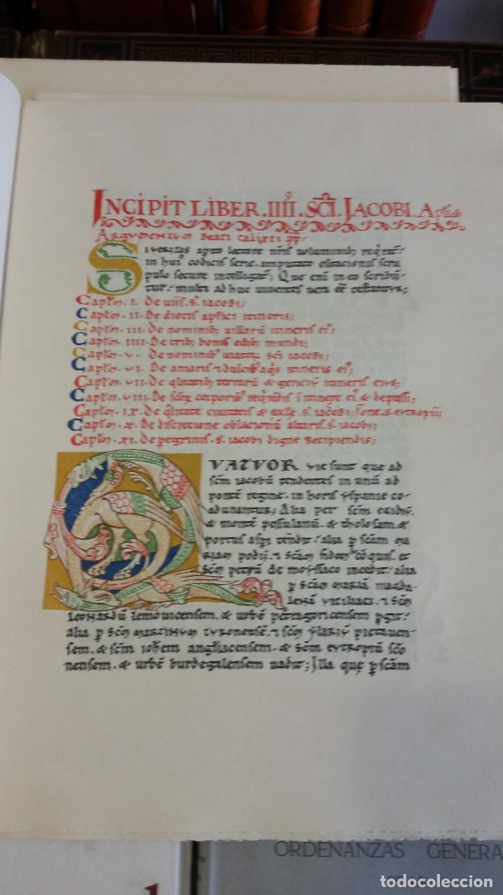 Libros de segunda mano: 1971 - Libro de la peregrinación del códice calixtino - Joyas Bibliográficas - Foto 9 - 269439653