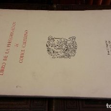 Libros de segunda mano: 1971 - LIBRO DE LA PEREGRINACIÓN DEL CÓDICE CALIXTINO - JOYAS BIBLIOGRÁFICAS. Lote 269439653