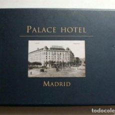 Libros de segunda mano: PALACE HOTEL. MADRID. LIBRO EDITADO PARA CONMEMORAR EL CENTENARIO DEL HOTEL. Lote 269494658