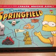 Libros de segunda mano: LOS SIMPSON - GUÍA DE SPRINGFIELD. Lote 269499733