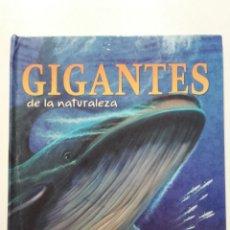 Libros de segunda mano: GIGANTES DE LA NATURALEZA - LIBRO POP UP. Lote 269502058