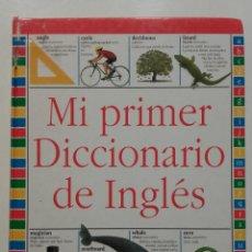 Libros de segunda mano: MI PRIMER DICCIONARIO DE INGLÉS - ED. BRUÑO. Lote 269502083