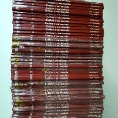 Libros de segunda mano: COLECCION DE 51 TOMOS DE ESTHER Y SU MUNDO - EDITORIAL SALVAT - LA MITAD AUN PRECINTADOS. Lote 269583588