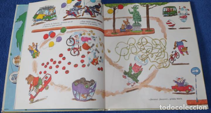 Libros de segunda mano: Mi primer gran libro de vacaciones - Richard Scarry - Bruguera (1983) - Foto 5 - 269740383