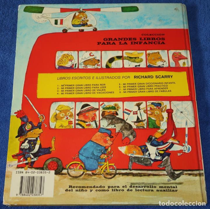 Libros de segunda mano: Mi primer gran libro de vacaciones - Richard Scarry - Bruguera (1983) - Foto 9 - 269740383