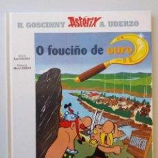Libros de segunda mano: GALICIA: O FOUCIÑO DE OURO (ASTERIX E OBELIX EN GALLEGO). Lote 269800588