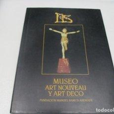 Livros em segunda mão: LIS MUSEO ART NOUVEAU Y ART DECO W7579. Lote 269816943