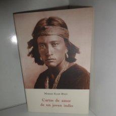 Libros de segunda mano: CARTAS DE AMOR DE UN JOVEN INDIO - MARAH ELLIS RYAN - EDI. OLAÑETA - DISPONGO DE MAS LIBROS. Lote 269830223
