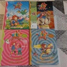 Libros de segunda mano: 4 LIBROS KIKA SUPERBRUJA N° 6 8 21 22. Lote 269933578