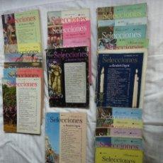 Livres d'occasion: SELECCIONES READER DIGEST, LOTE 21 EJEMPLARES AÑOS 50. Lote 269954683