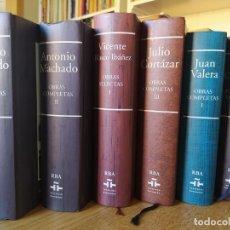Libros de segunda mano: LOTE DE TOMOS DE OBRS COMPLETAS DE LA EDITORIAL RBA. VARIOS AUTORES.. Lote 269959098