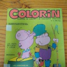 Libros de segunda mano: COLORIN .COLECCION DE CUENTOS Y PASATIEMPOS.N14 (4 UNIDADES). Lote 269962263