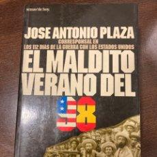 Libros de segunda mano: LIBRO EL MALDITO VERANO DEL 98. Lote 270122348