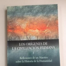 Libri di seconda mano: RAMTHA - LOS ORÍGENES DE LA CIVILIZACIÓN HUMANA.. Lote 270137598
