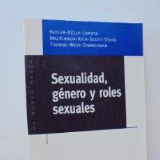 Libros de segunda mano: SEXUALIDAD, GENERO Y ROLES SEXUALES. MARYSA NAVARRO. CATHERINE R. STIMPSON. 1999.. Lote 270218248