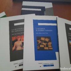Libros de segunda mano: CUADERNOS DEL MUSEO CAJAGRANADA. CUATRO PRIMEROS NÚMEROS + CAJA. BUEN ESTADO.DIFICIL.. Lote 270226238