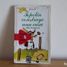 Libros de segunda mano: ALTEA BENJAMÍN, TOPOLÍN CONSTRUYE UNA CASA. Lote 270373358