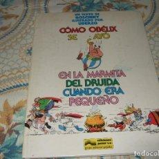 Libros de segunda mano: ASTERIX - COMO OBELIX SE CAYO EN LA MARMITA DEL DRUIDA - UDERZO - EDICIONES JUNIOR - GRIJALBO - 1989. Lote 270409993