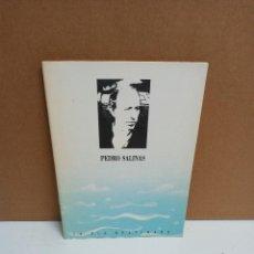 Libros de segunda mano: PEDRO SALINAS - LA OLA GRATINADA - CENTRO CULTURAL DE LA GENERACIÓN DEL 27. Lote 270520823