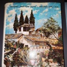 Libros de segunda mano: 60 AÑOS DE ARTE GRANADINO 1900-1962,AULA DE CULTURA DEL MOVIMIENTO 1974 AROSTEGUI MEJÍAS Y LOPEZ RUI. Lote 270532278