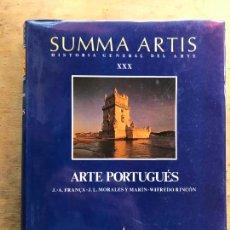 Libros de segunda mano: SUMMA ARTIS VOL. XXX. ARTE PORTUGUÉS.. Lote 270546198
