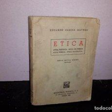 Libros de segunda mano: 35- ÉTICA, EDUARDO GARCÍA MAYNES. Lote 270566173