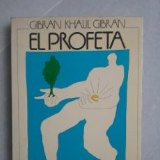 Libros de segunda mano: GIBRAN KHALIL GIBRAN. EL PROFETA. ILUSTRACIONES DE NELSON LEIVA. ED. POMAIRE. Lote 270575208