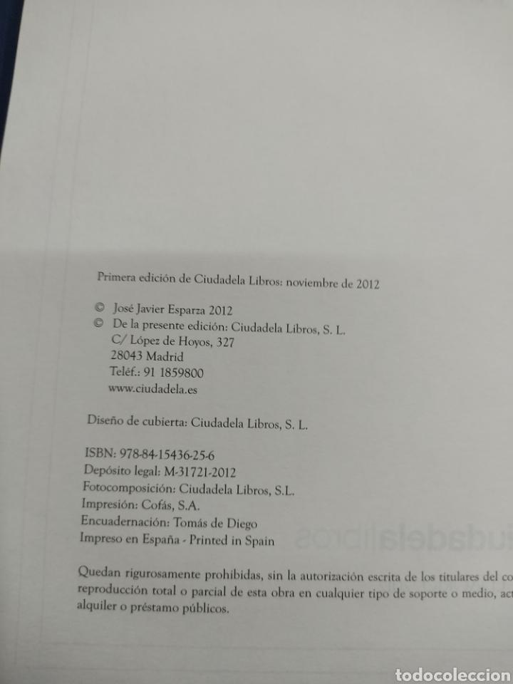 Libros de segunda mano: HEROES ESPAÑOLES De la A a la Z JOSÉ JAVIER ESPARZA CIUDADELA LIBROS 2012 PRIMERA EDICION MUY RARO - Foto 7 - 270597273