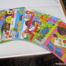 Libros de segunda mano: REVISTA INFANTIL CARACOLA (10 TOMOS SUELTOS) W7628. Lote 270865473
