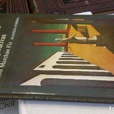 Libros de segunda mano: 1986 -SIMÓN MARCHÁN FIZ - CONTAMINACIONES FIGURATIVAS - ALIANZA FORMA. Lote 270892828