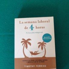 Livros em segunda mão: LA SEMANA LABORAL DE 4 HORAS. Lote 270903783
