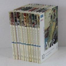 Libros de segunda mano: HISTORIA UNIVERSAL DEL ARTE,DOCE TOMOS,COMPLETA. EDITORIAL ESPASA PARA ABC/AIRTEL,2000.. Lote 270916498