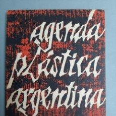 """Libros de segunda mano: """"AGENDA PLÁSTICA ARGENTINA 1963"""" ILUSTRADO. Lote 270984838"""