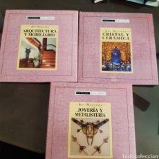 Livros em segunda mão: ESTILOS DEL ARTE,ART NOUVEAU, TOMO 1CRISTAL Y CERÁMICA, TOMO 2 JOYERÍA Y METALISTERÍA TOMO 3 ARQU. Lote 271034848