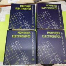 Libros de segunda mano: MONTAJES ELECTRÓNICOS TÉCNICAS Y COMPONENTES. Lote 271037308