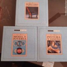 Livros em segunda mão: ESTILOS DEL ARTE,ART DECO, TOMO 1 PINTURA, TOMO 2 JOYERÍA TOMO 3 PINTURA. Lote 271038153