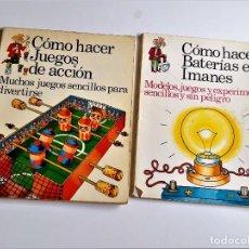 Libros de segunda mano: DOS LIBROS VARIOS. Lote 271155318